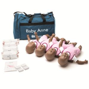 Laerdal Baby Anne, Neljän Pakkaus (Tumma Iho)